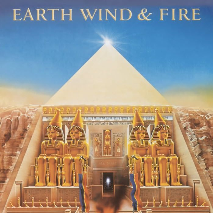 EWF Album Cover - All 'N All