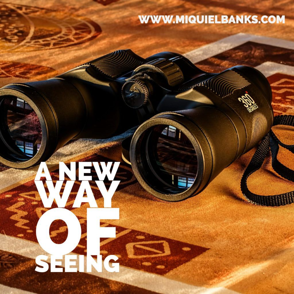 Blog Cover - a new way of seeing
