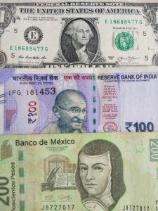 échange de devises de monnaies