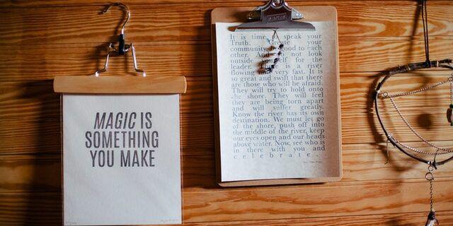 à toi de créer la magie