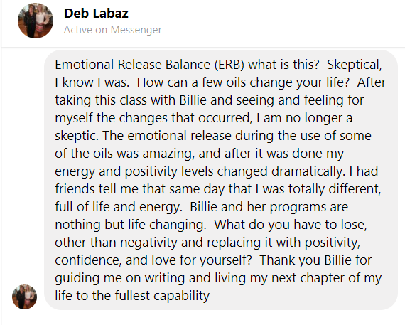 Debbie Labaz Testimonial