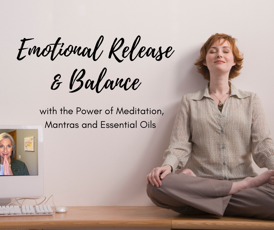 Emotional Release and Balance FB Post