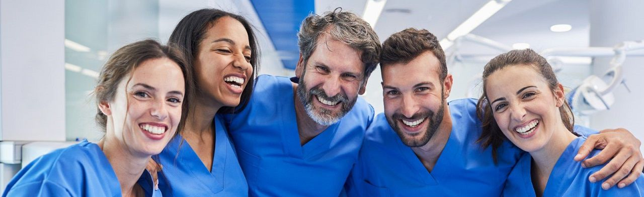 Happy Healthcare Practitioners