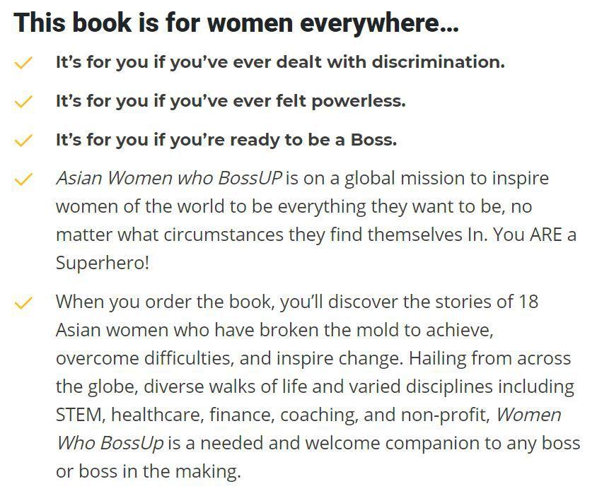Asian Women Who BossUp book