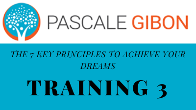 The 7 Key Principles To Achieve 3-part video series with Pascale Gibon - Training 3