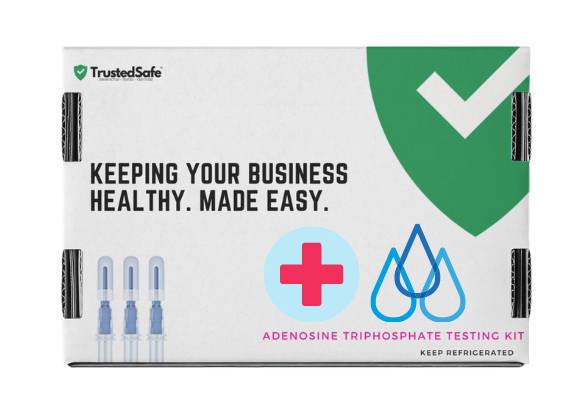 TrustedSafe offers a full service ATP testing service for $297, testing base, hygiene and water for commercial facilities