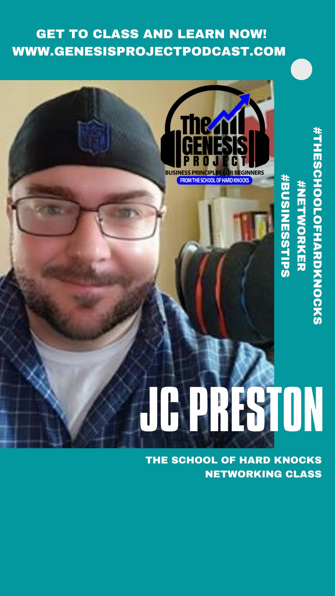 Guest professor JC Preston
