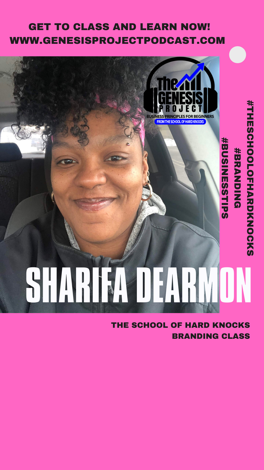 Guest Professor Sharifa DeArmon