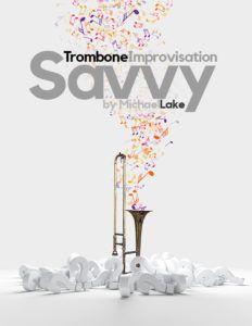 Trombone Improvisation Dolphin Dance excerpt cover