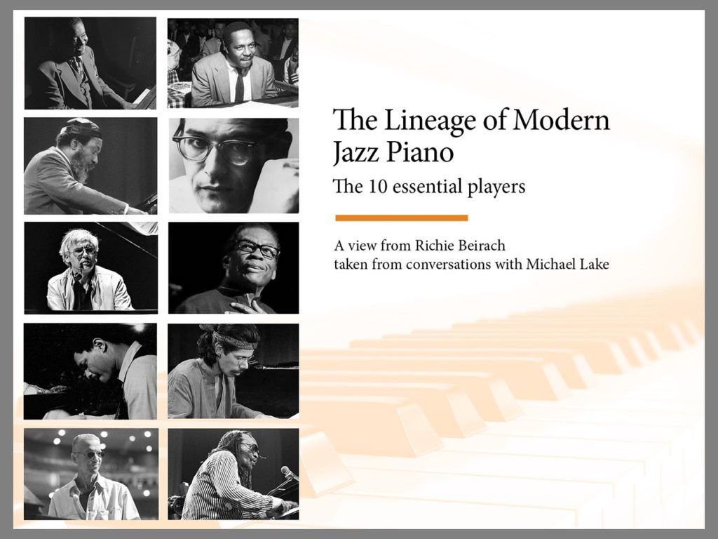 THE LINEAGE OF MODERN JAZZ PIANO - cover w-border
