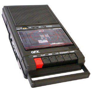 Cassette recorder2