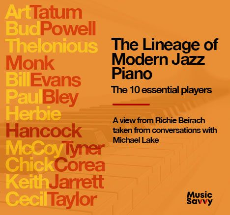 Piano Lineage audiobook cover small