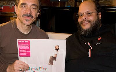 Ed Motta & Charles Gavin with Whatmusic LP Dwitza