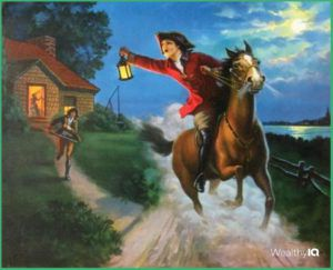 WealthyIQ - Midnight Ride of Paul Revere by Edward Mason Eggleston