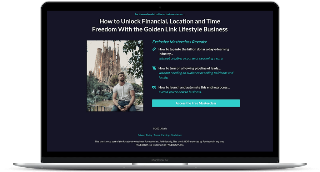 The Ultimate Lifestyle Business