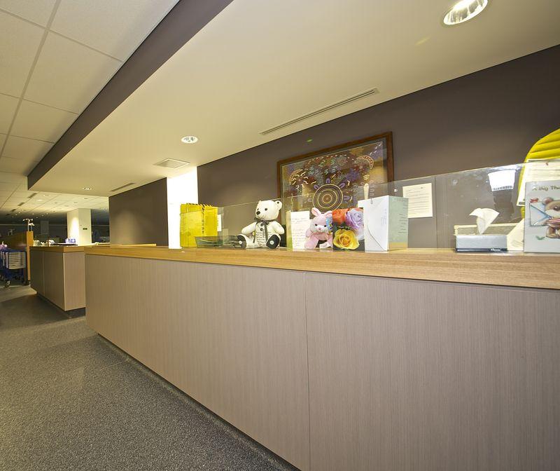 Hospital Counter