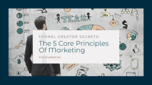 Looking at a marketing strategy or sale funnel