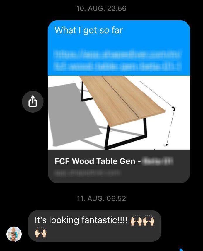 FCF - Wood Table (0)