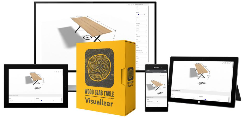 Wood Slab Table Visualizer
