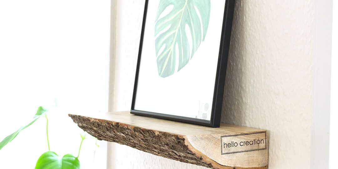 The Floating Wood Shelf