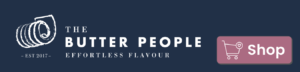 Mobile Logo with Shop Button - The Butter People