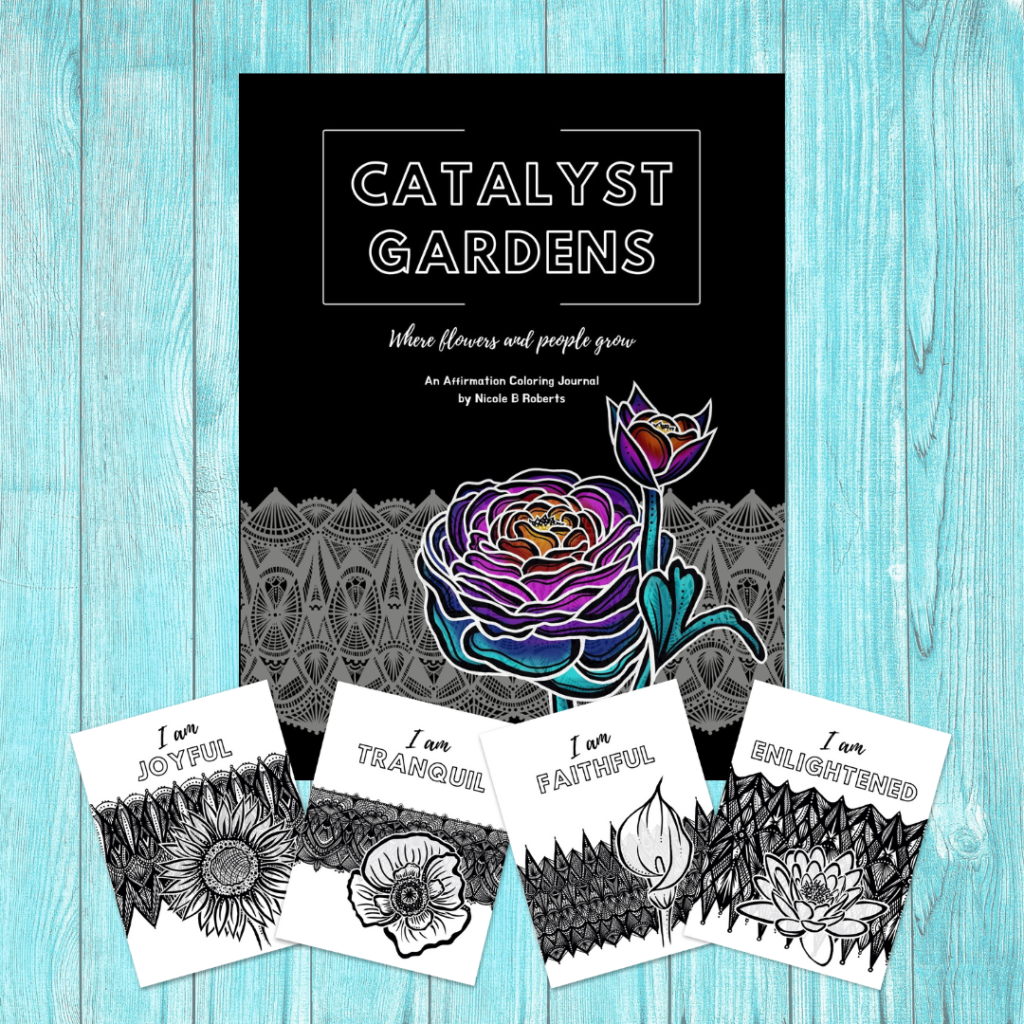 Catalyst Gardens coloring journal