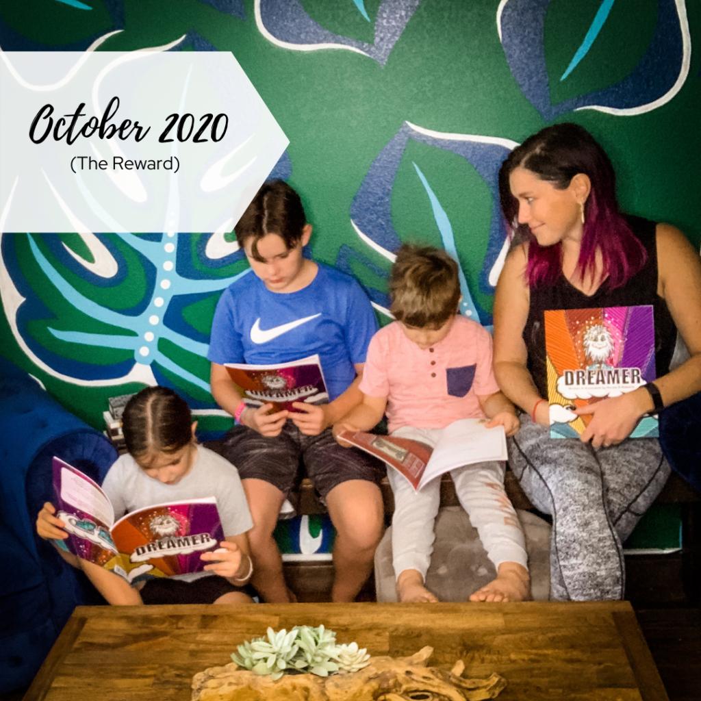 Kids Reading Dreamer
