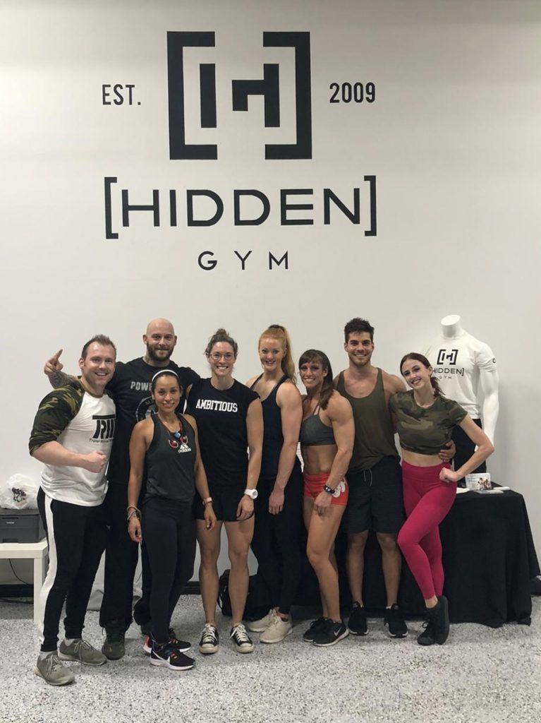 trm at hidden gym