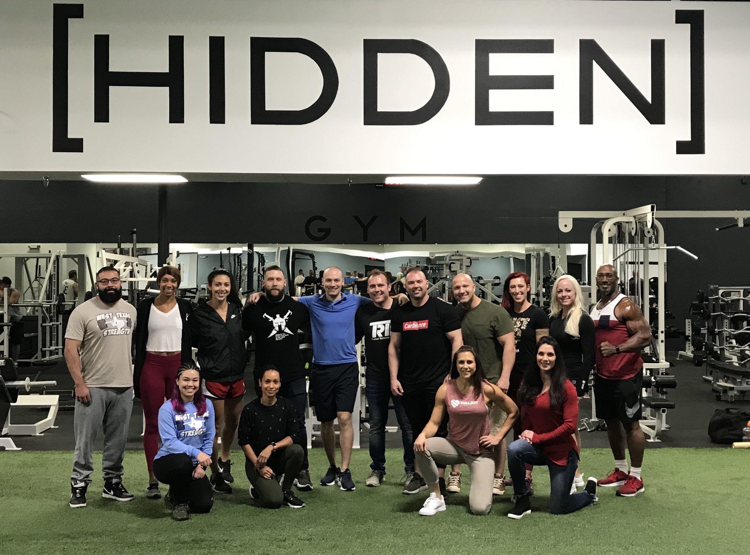 hidden gym team