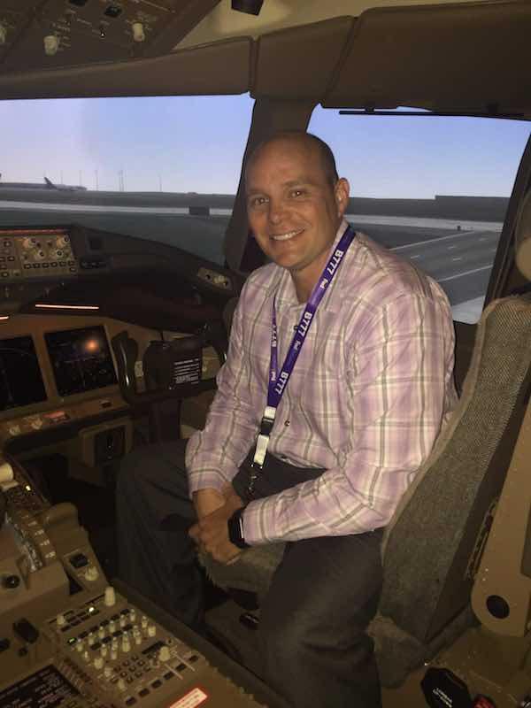 Chris in 777 sim