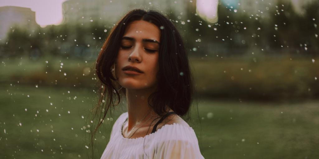 Woman wanting to transform spiritually
