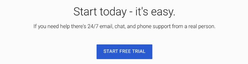 is g suite free trial