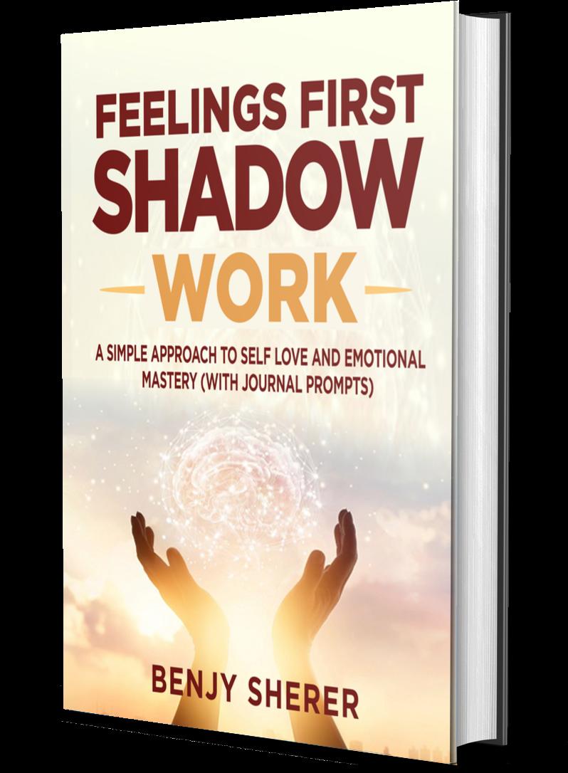 Feelings First Shadow Work Book - 3D Mockup