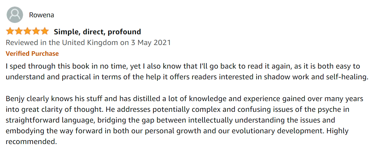 Feelings First Amazon Book Review