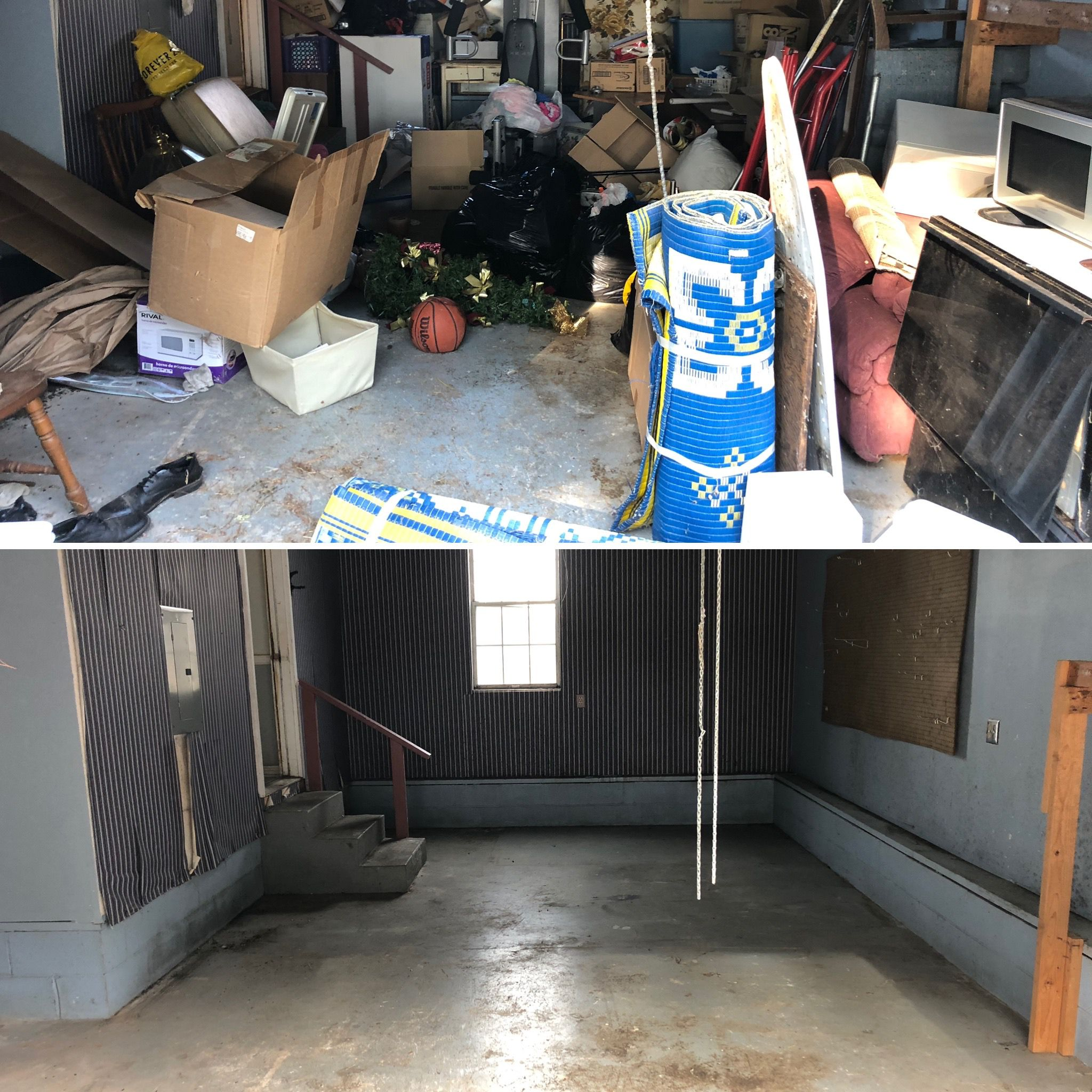 unwanted junked removal is what we do
