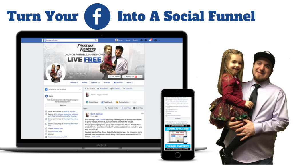 Turn Your Facebook Into A Social Funnel