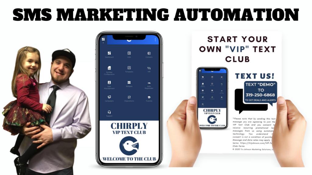 Chirply SMS Marketing Automation