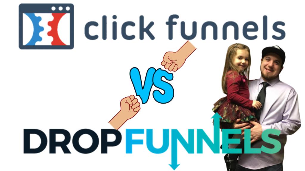 clickfunnels vs dropfunnels