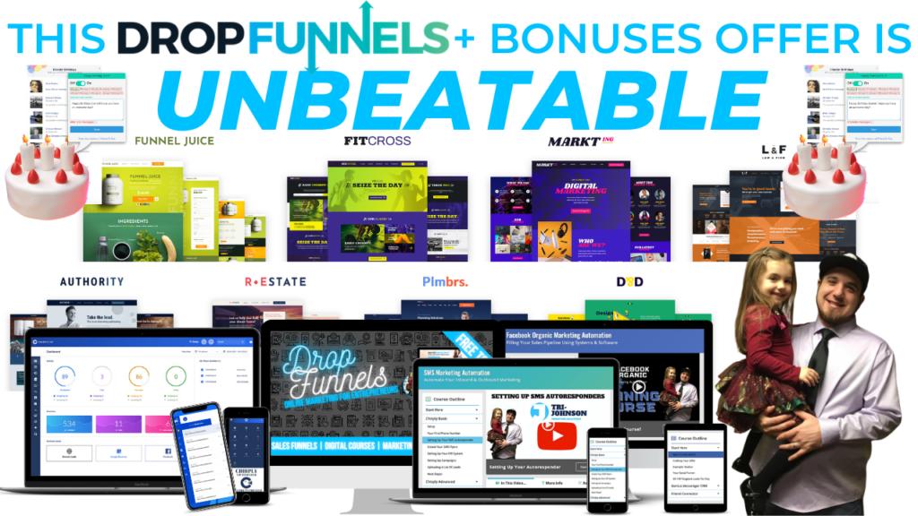 DropFunnels Bonuses
