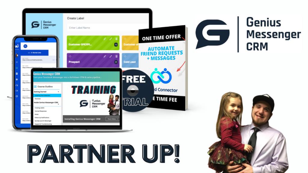 Genius Messenger CRM Partnership