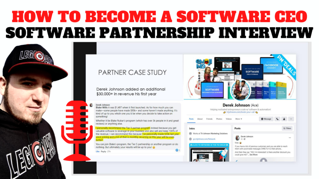 Software Partnership Interview - How To Become A Software CEO