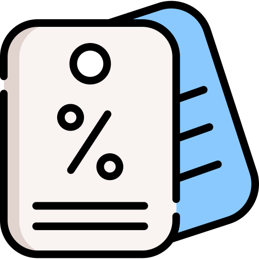 Icon of blue and pink name tags for Genius Messenger CRM