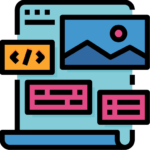 Icon of multiple colored templates for Genius Messenger CRM