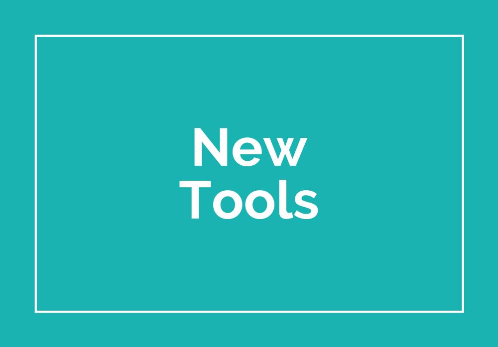 Mini Training Images - New Tools