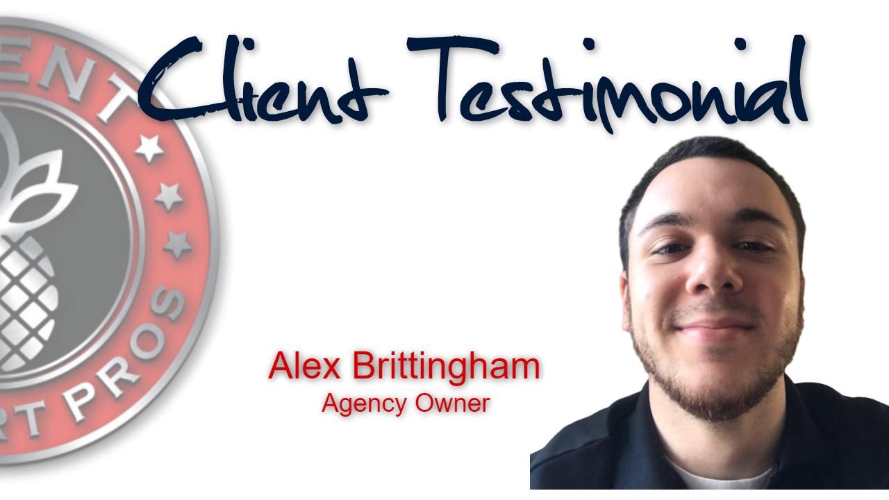 Client Support Pros - Alex Brittinghalm Testimonial