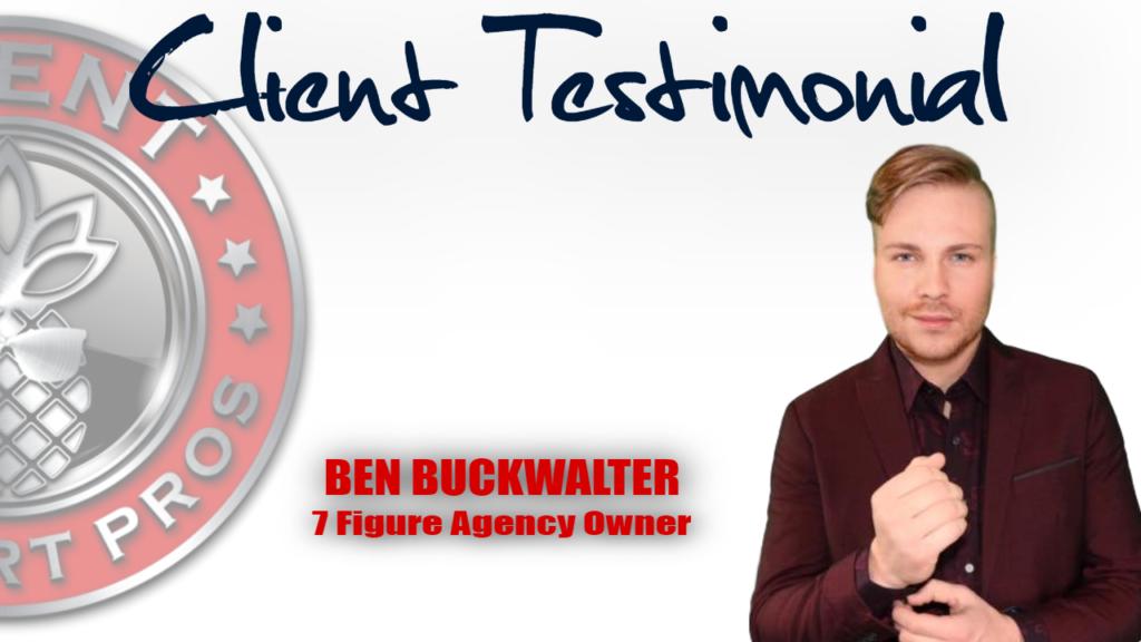 Client Support Pros - Ben Buckwalter Testimonial