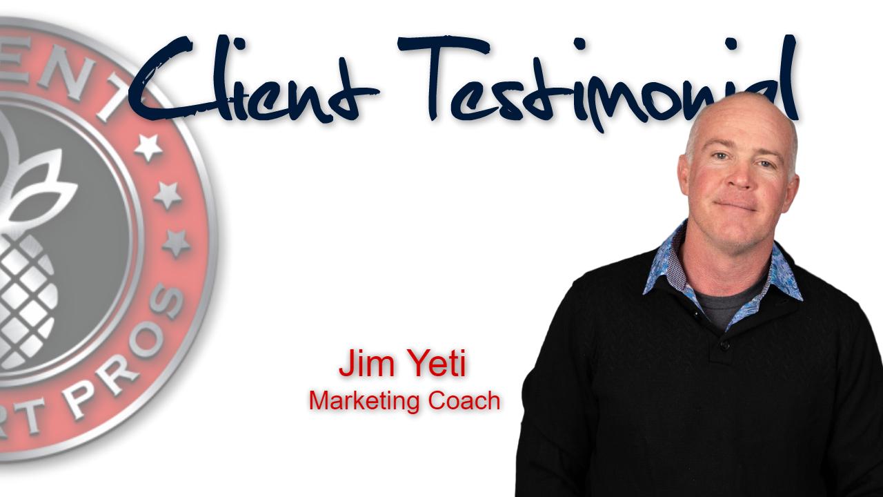 Client Support Pros - Jim Yeti Testimonial