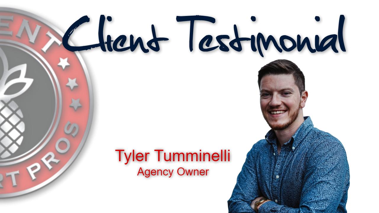 Client Support Pros - Tyler Tumminelli Testimonial