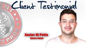 Client Support Pros - Xavier Di Petta Testimonial