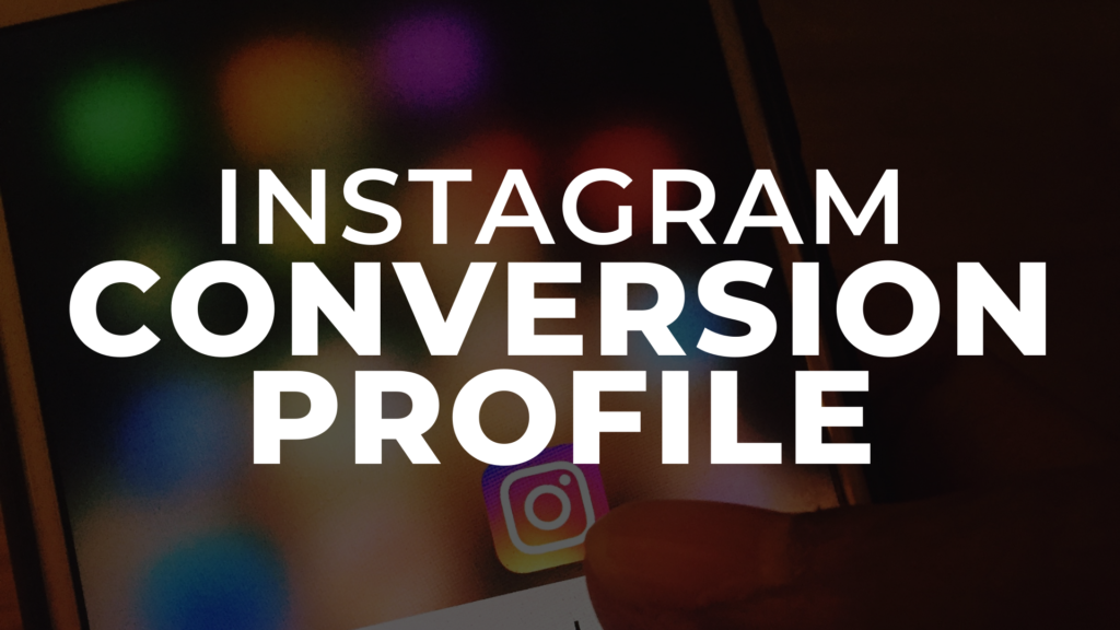 how to turn your instagram profile into a sales funnel